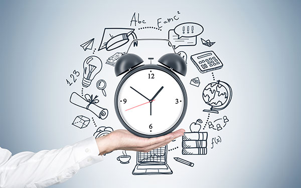 time management in pte